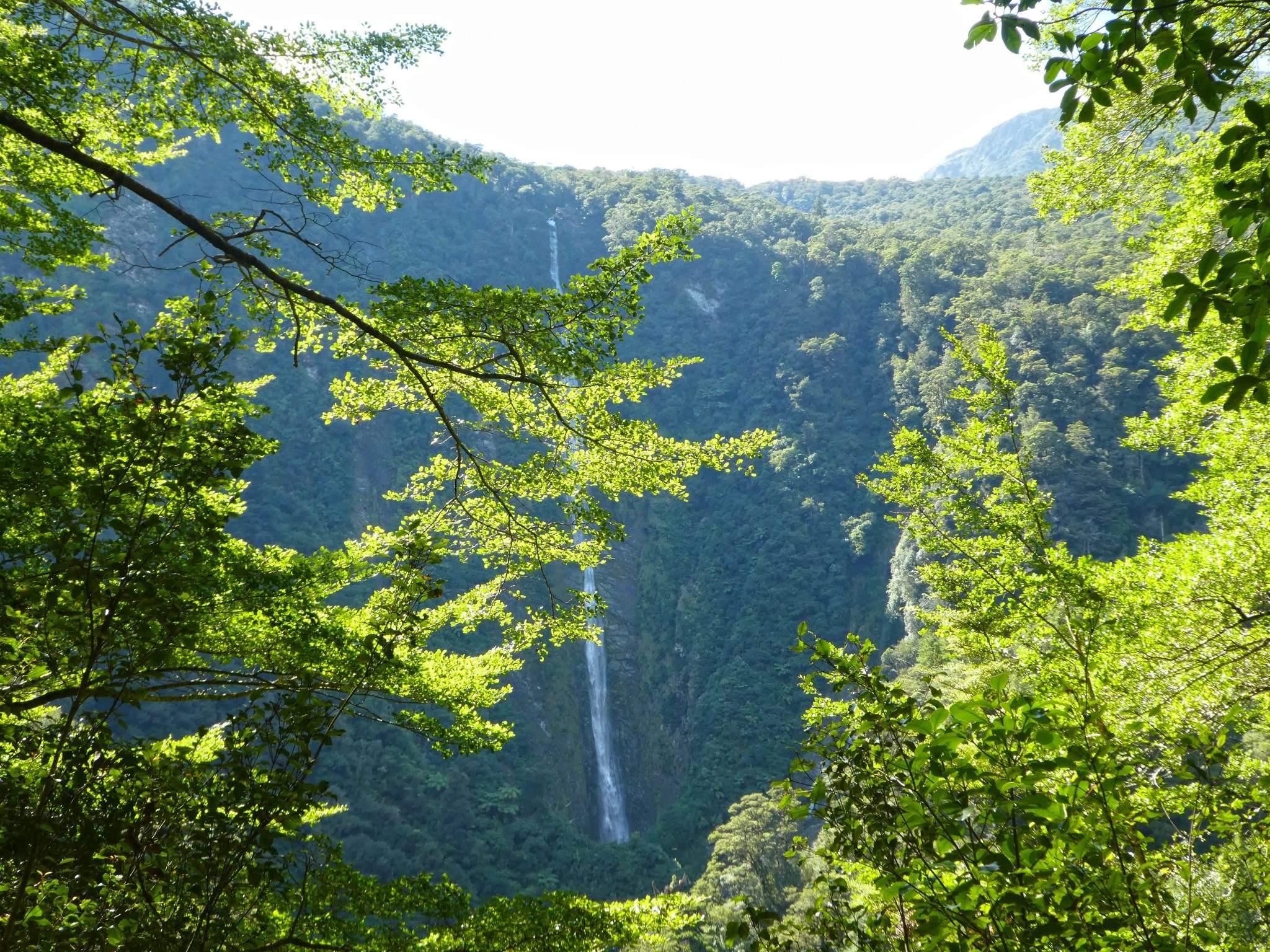 Humboldt Falls New Zealand