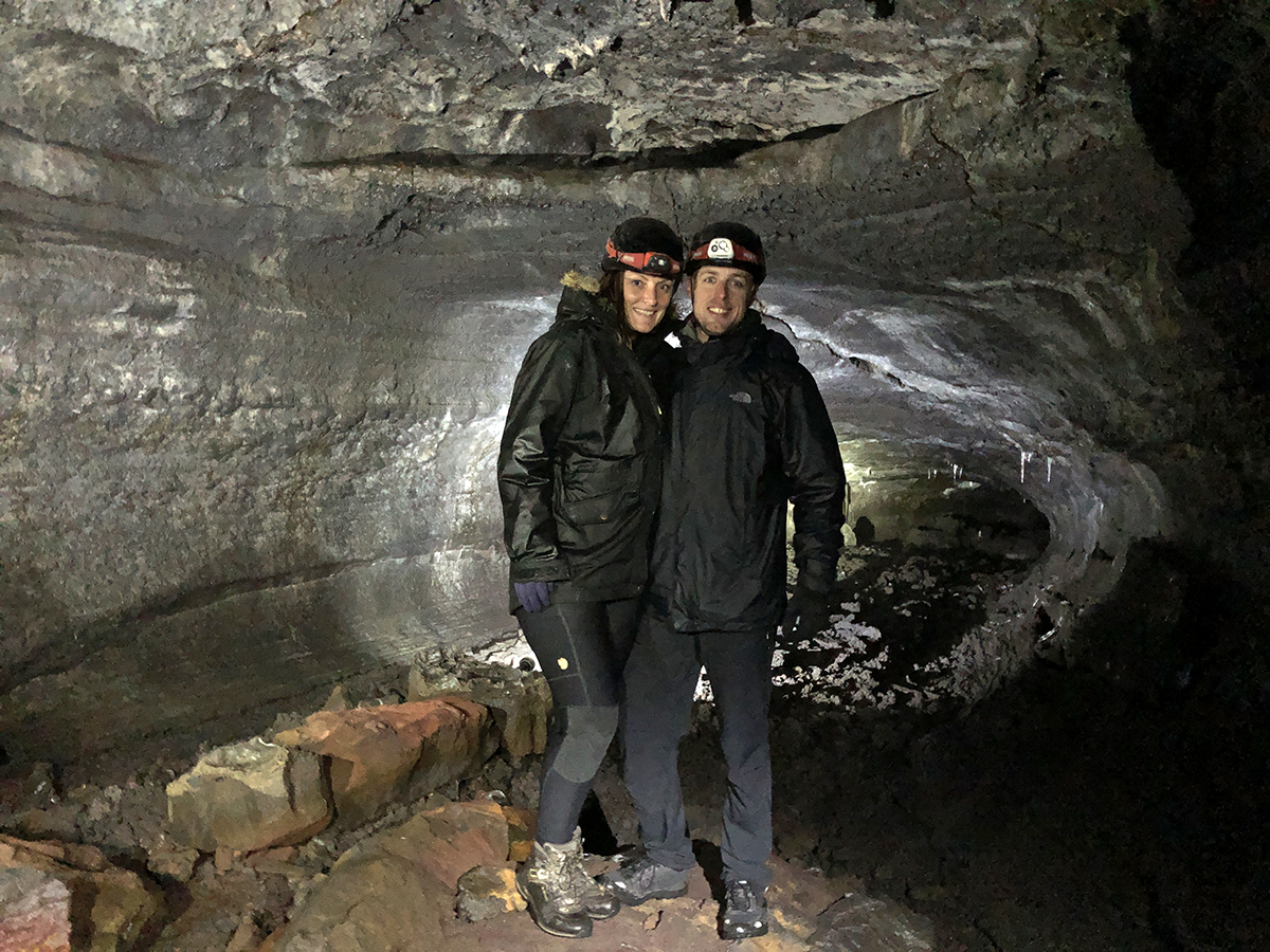 In the Lava Cave