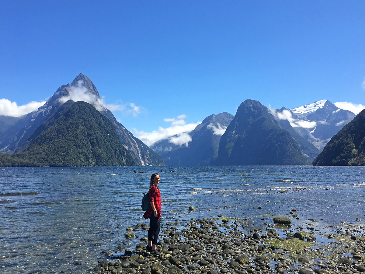 Fiordland National park hiking trails