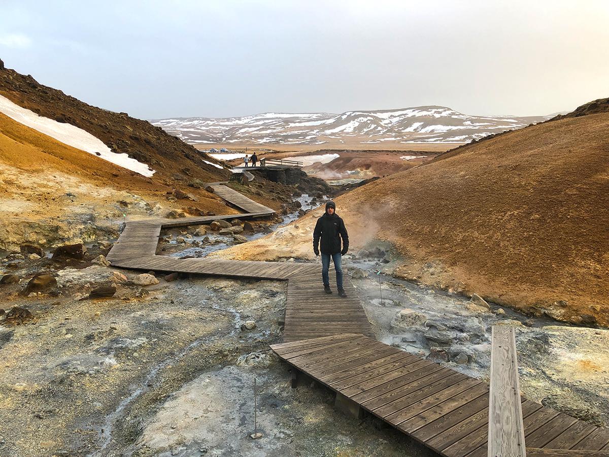 Seltún and Krysuvík Reykjanes