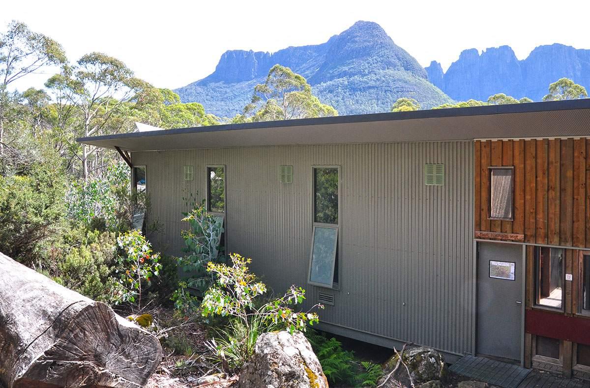 Bert Nichols Hut Overland Track