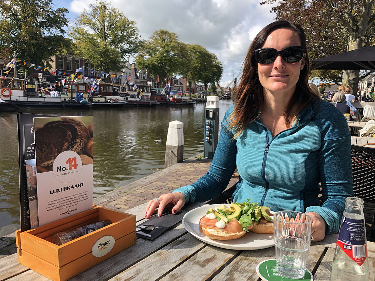 Lunchen in Lemmer