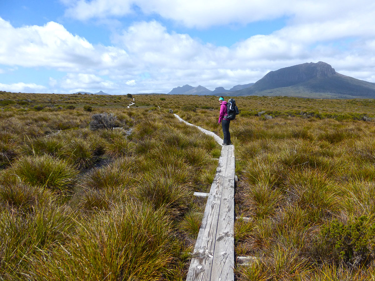 Hiking the Overland Track