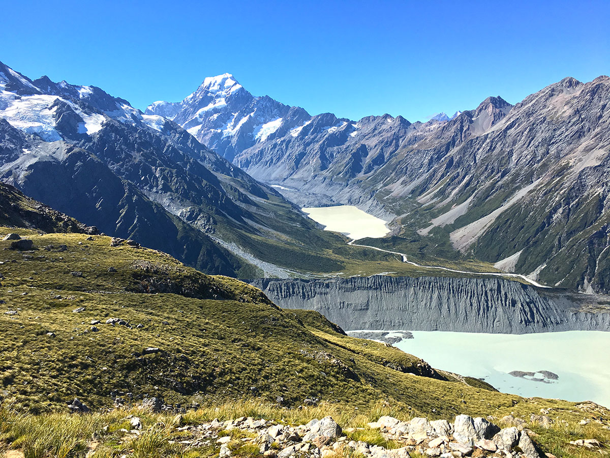 Mount Cook view from Mueller Hut Track