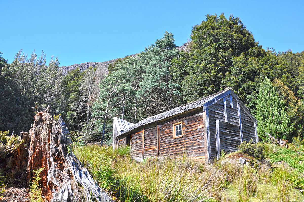 Old Du Cane Hut on the Overland Track