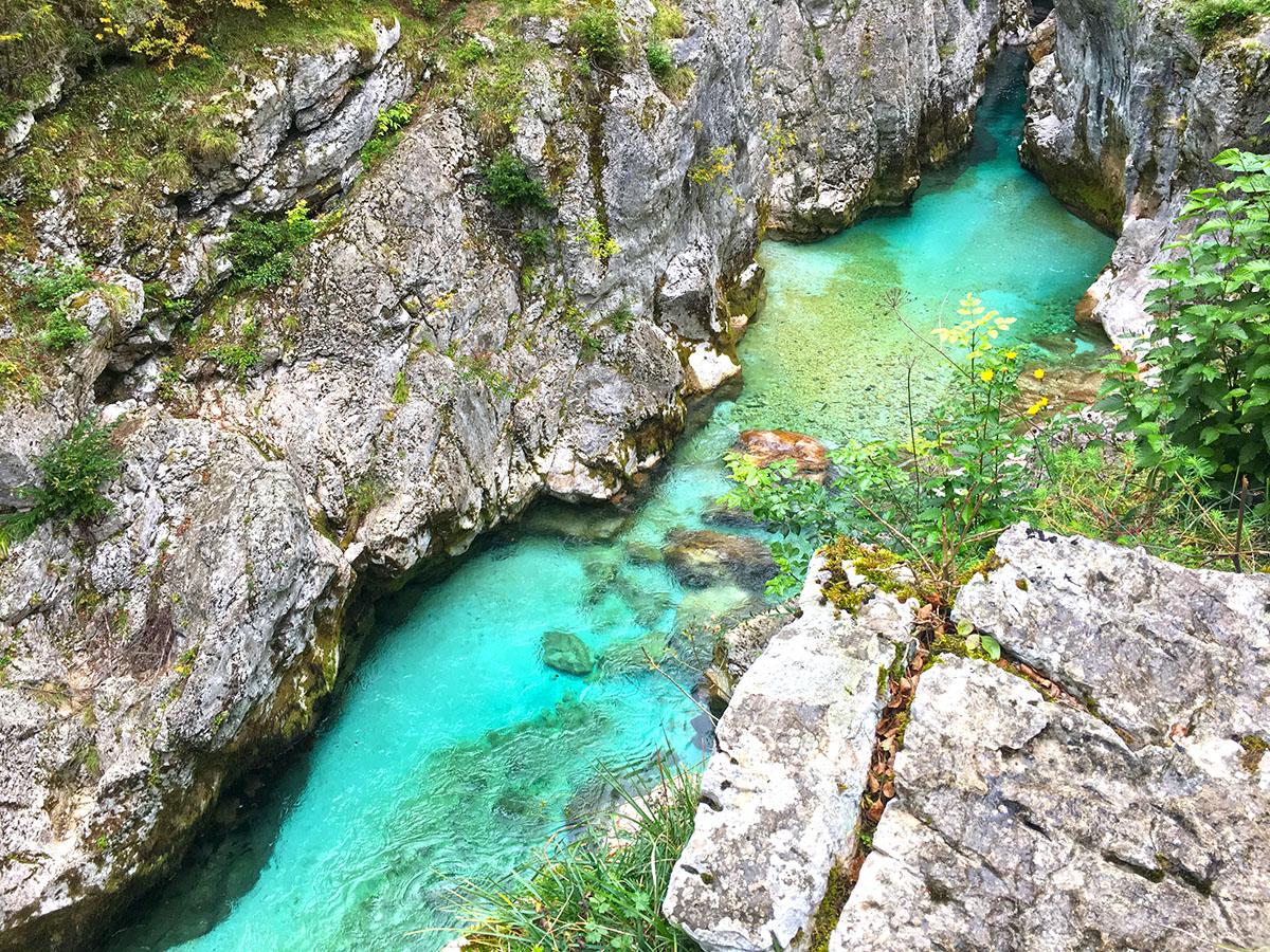 Soca River Slovenië