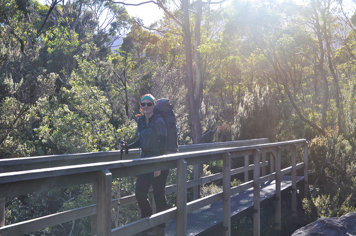 Sunshine on the Overland Track