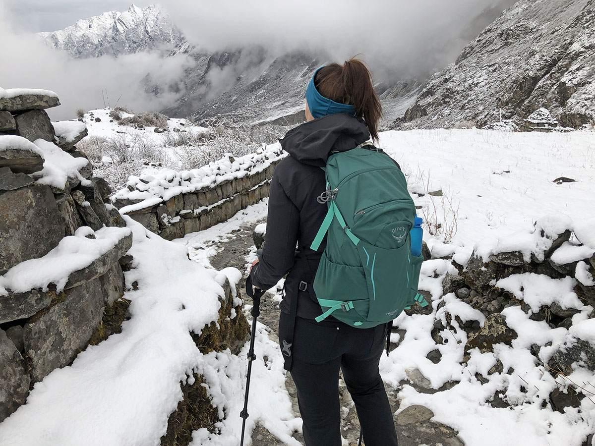 The North Face regenjas