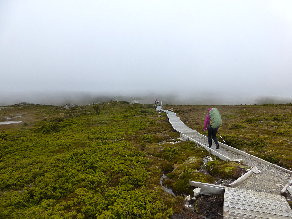Weather on the Overland Track