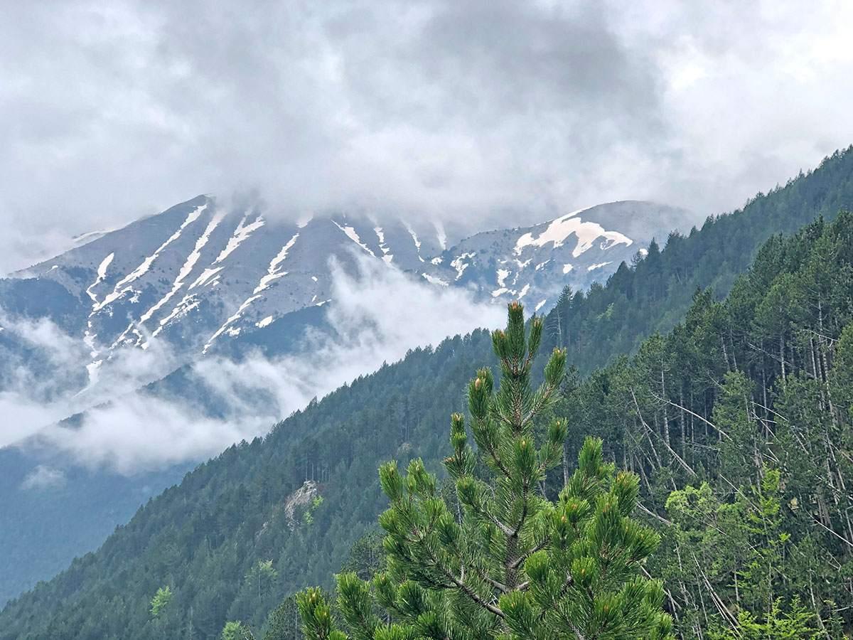 Beklimming Mt Olympus