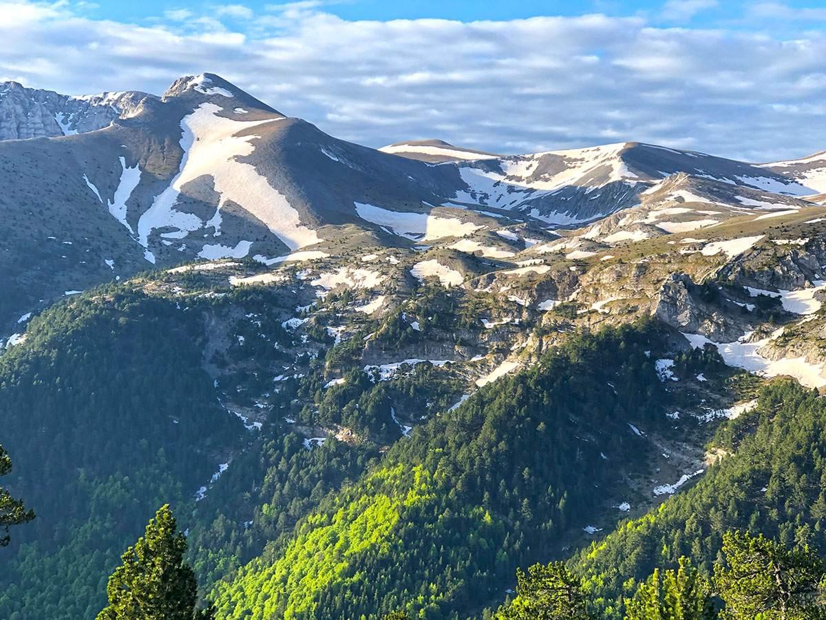 Zonsopkomst Mt Olympus