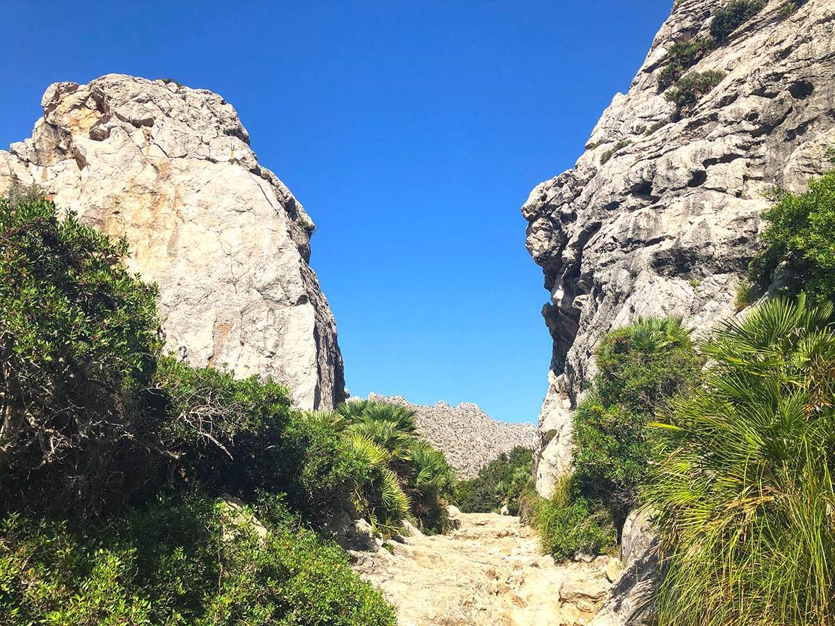 Val de Boquer wandelen op Mallorca