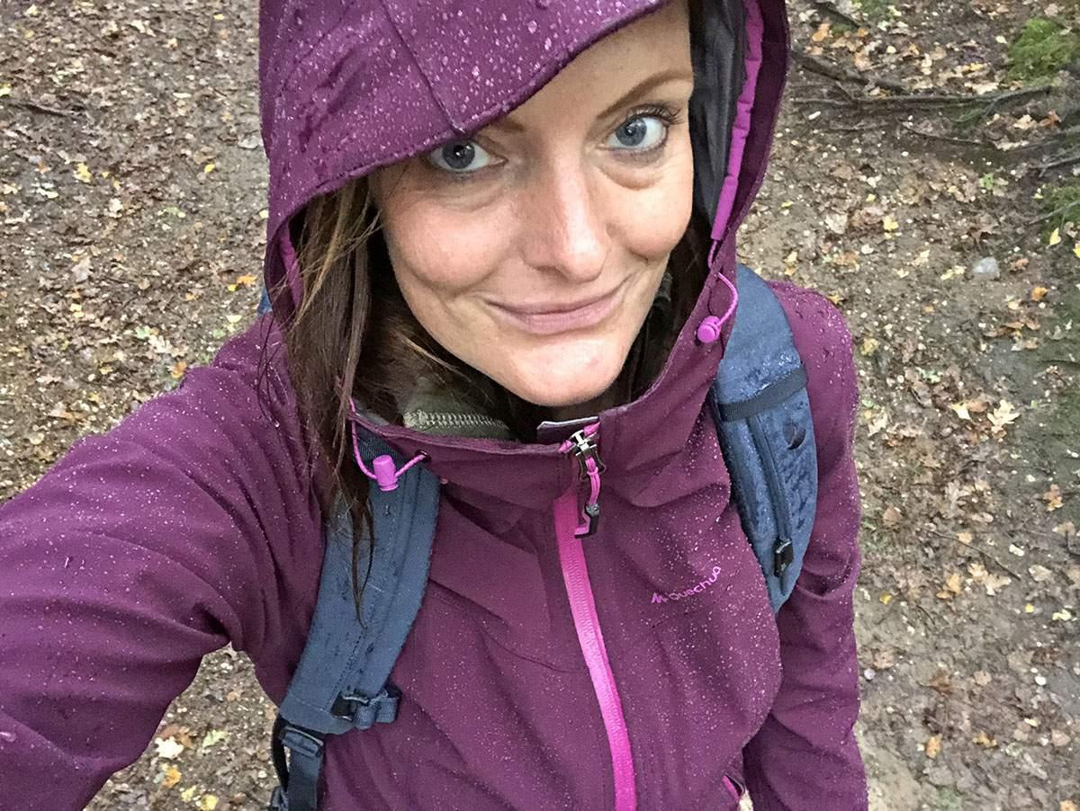 Wandeling Laarsenberg in de regen