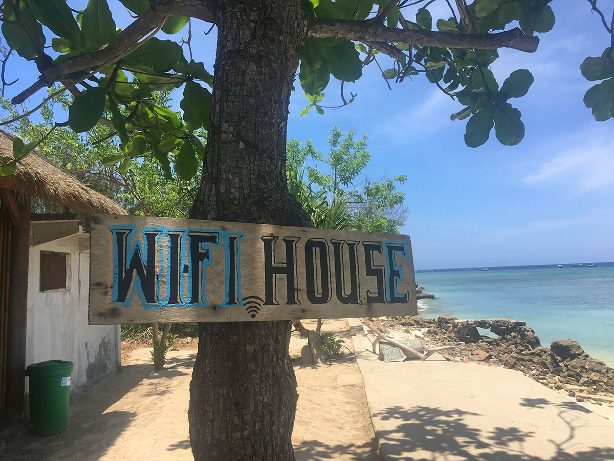 Wifi House, Gili Air