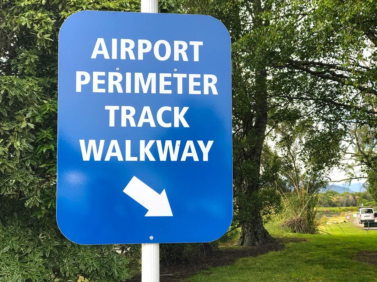 Airport Perimeter walkway Nelson