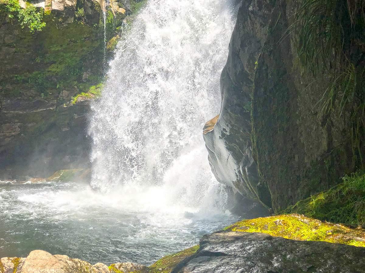 Wainui Falls Base