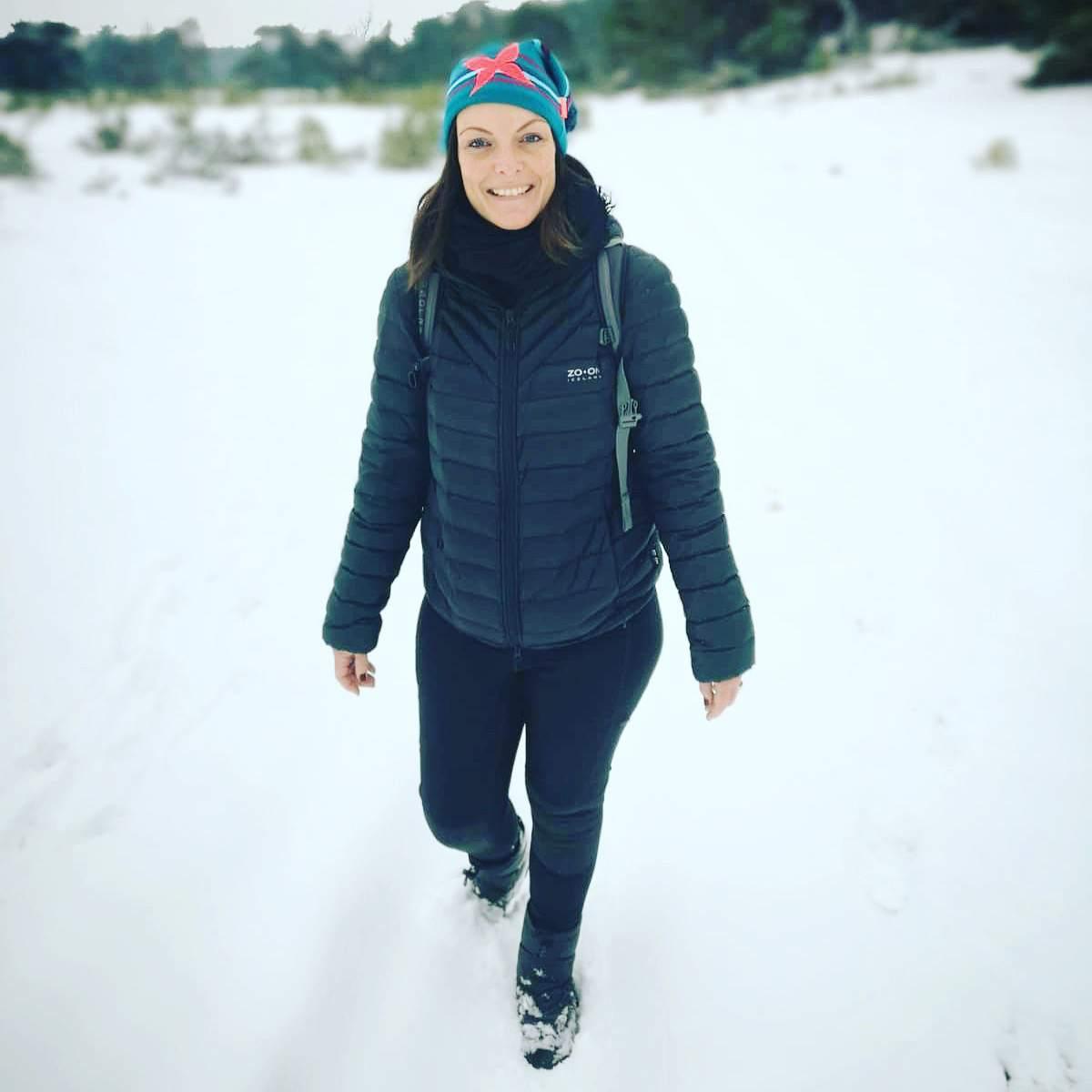 micro avontuur in de winter