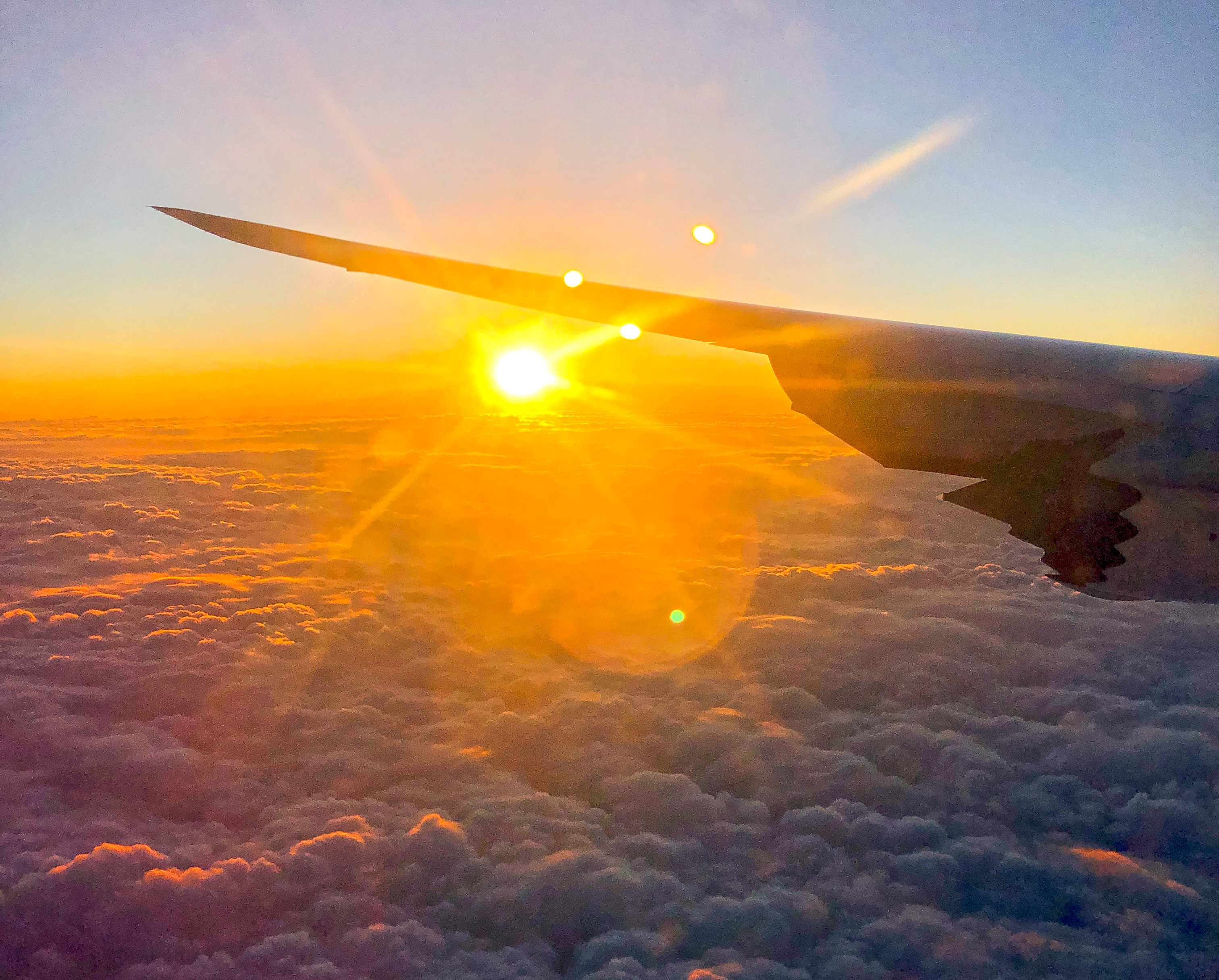 Vlucht met Korean Air