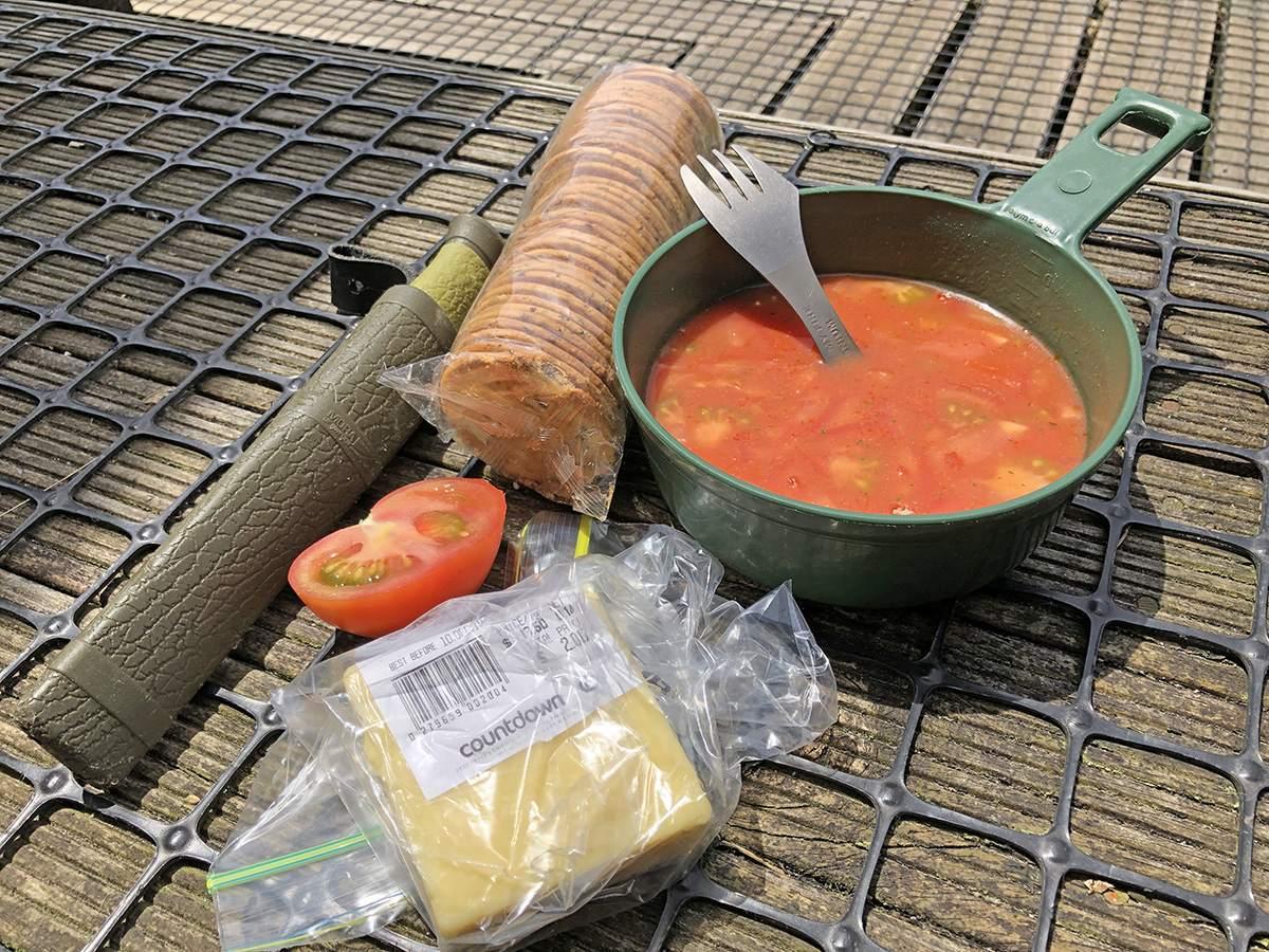 Lunch at Saxon Hut