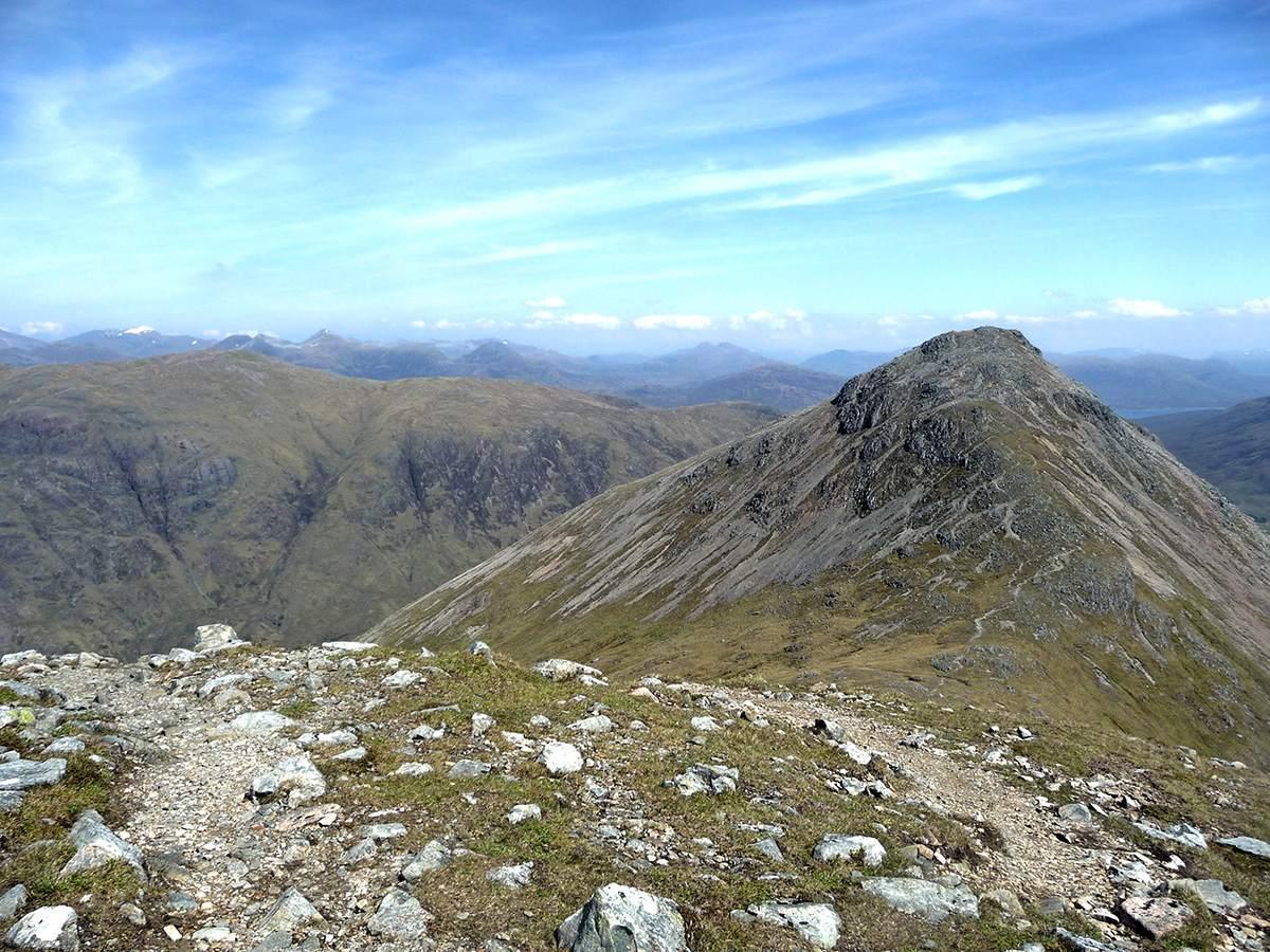 Munro bagging Schotland