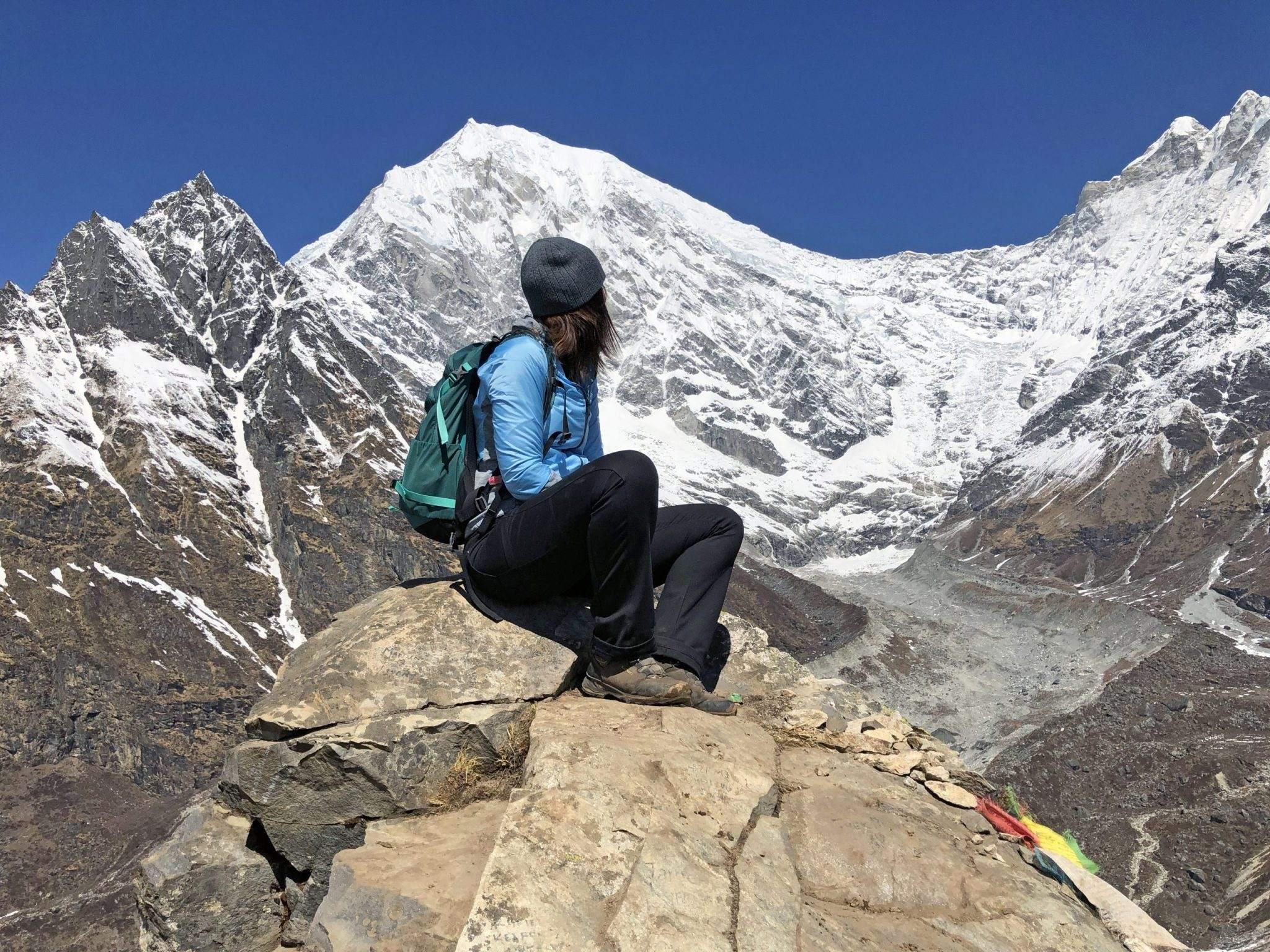 Op de Langtang Valley trek in Nepal