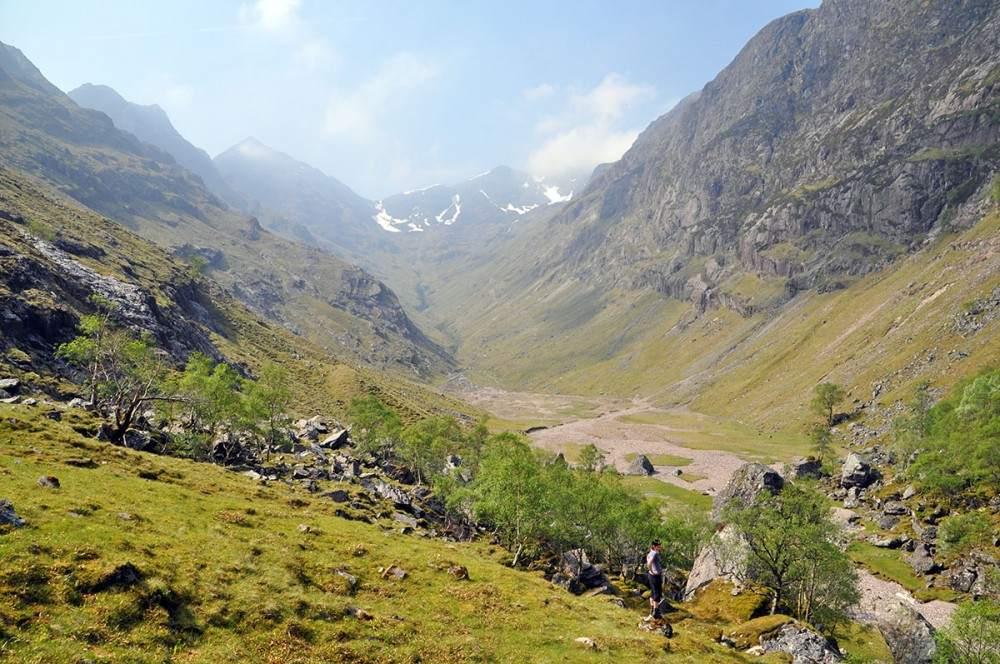 wandelvakantie schotland lost valley hike glencoe