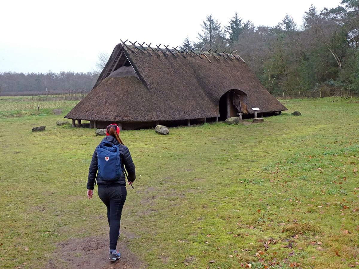De ijzertijdboerderij op de Veluwe