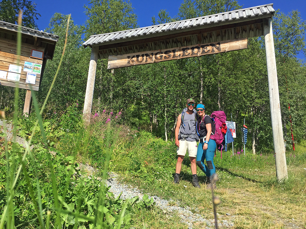 On the Kungsleden Trail