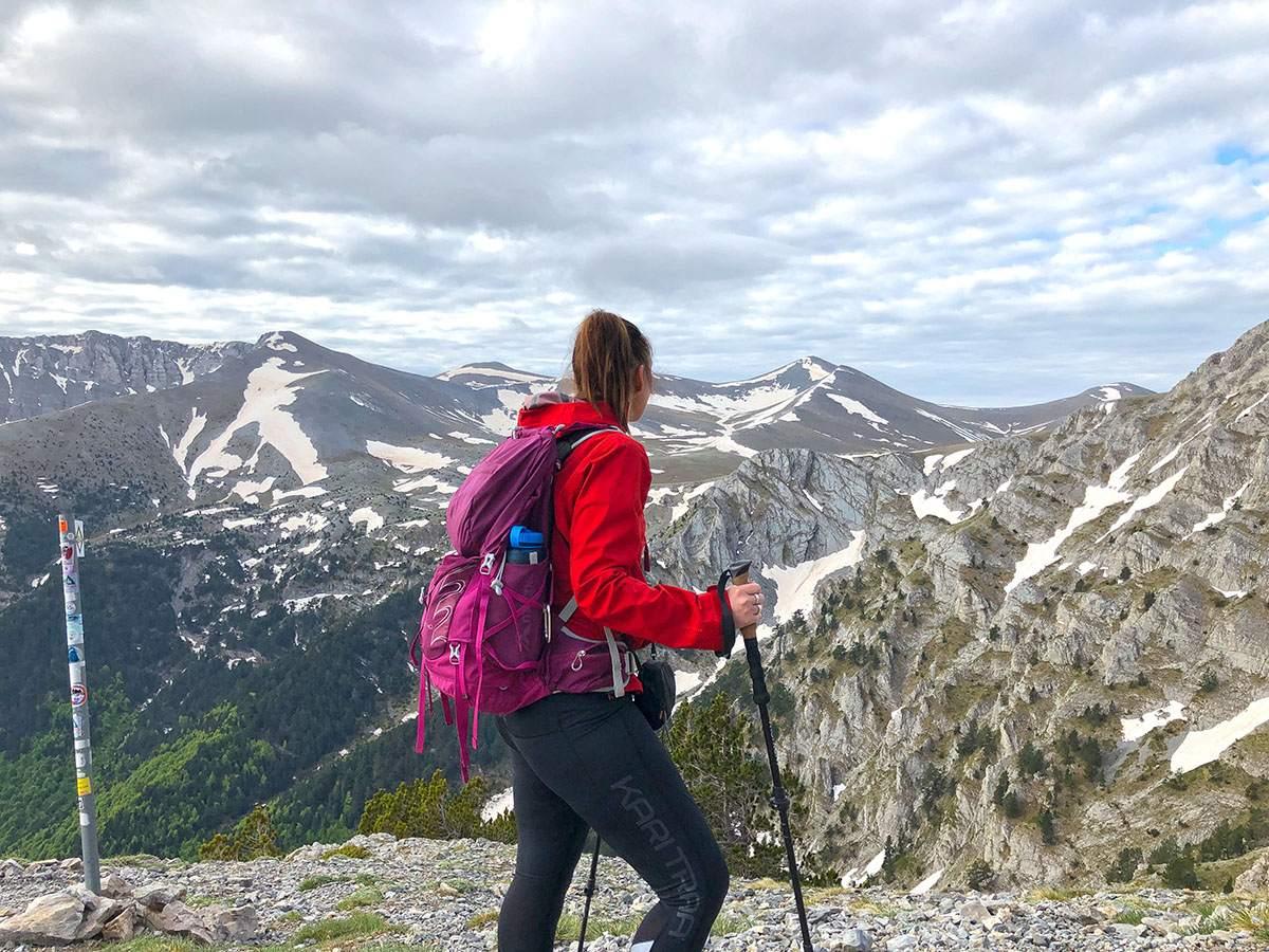 Beklimming van Mount Olympus