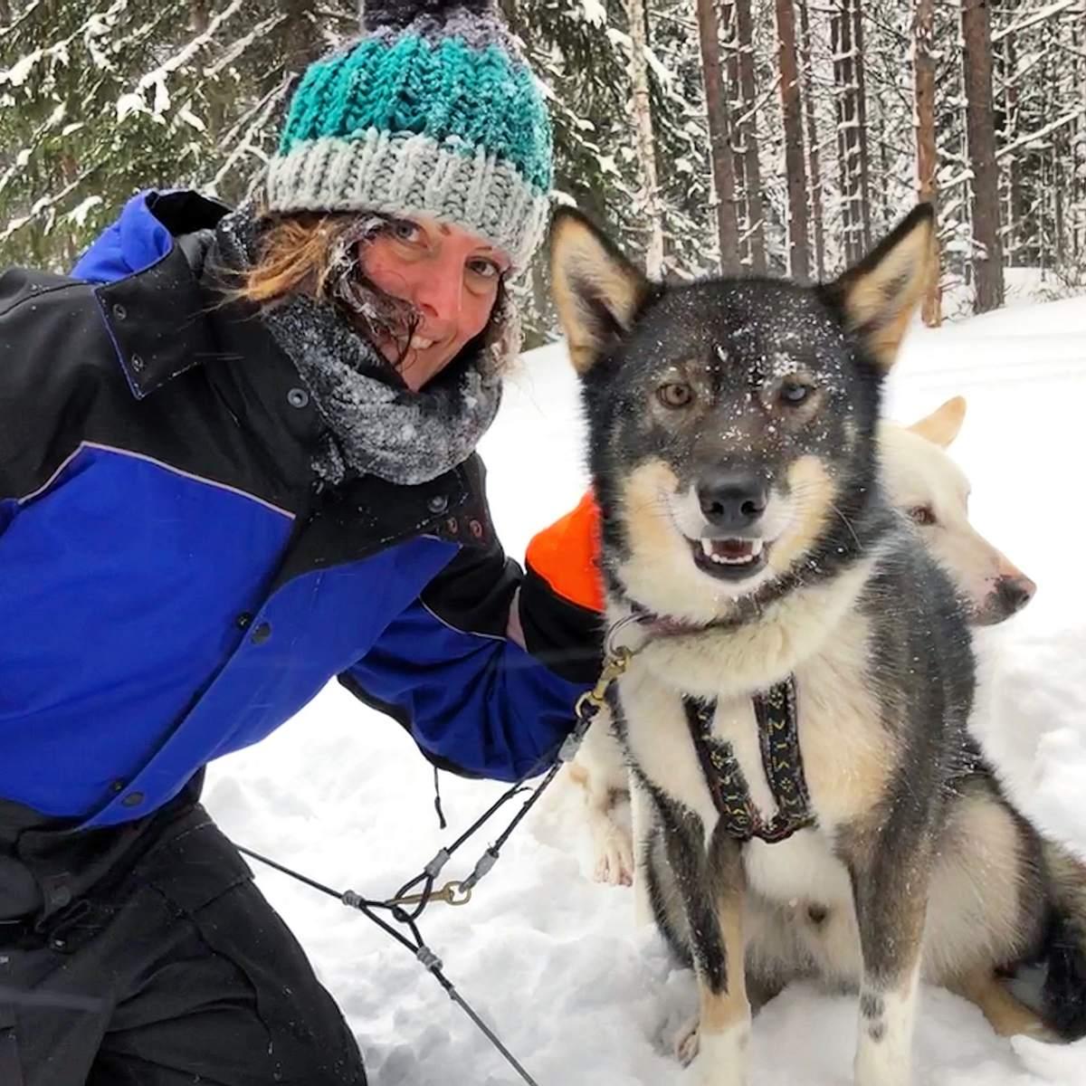 tijdens de pauze weekendje Lapland