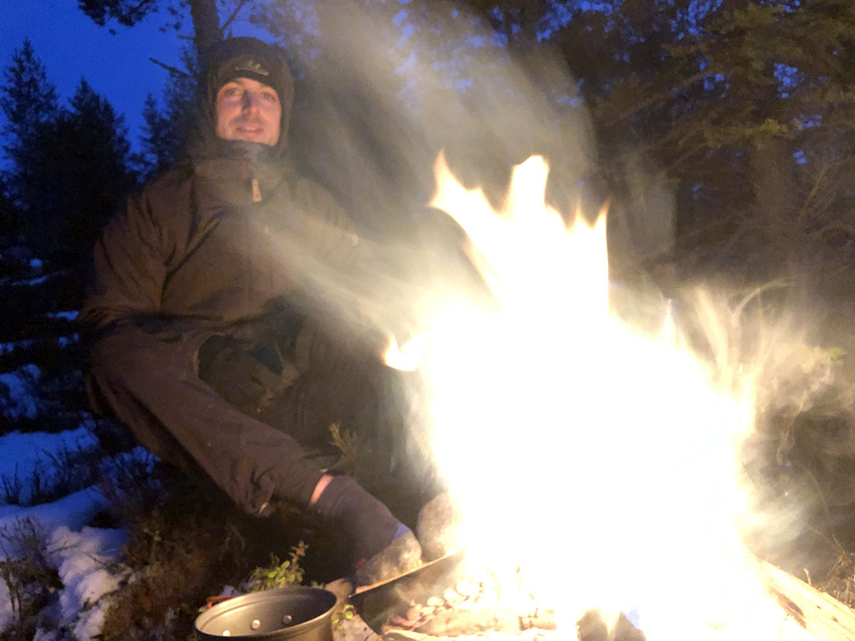 Fjällräven winterjas voor mannen