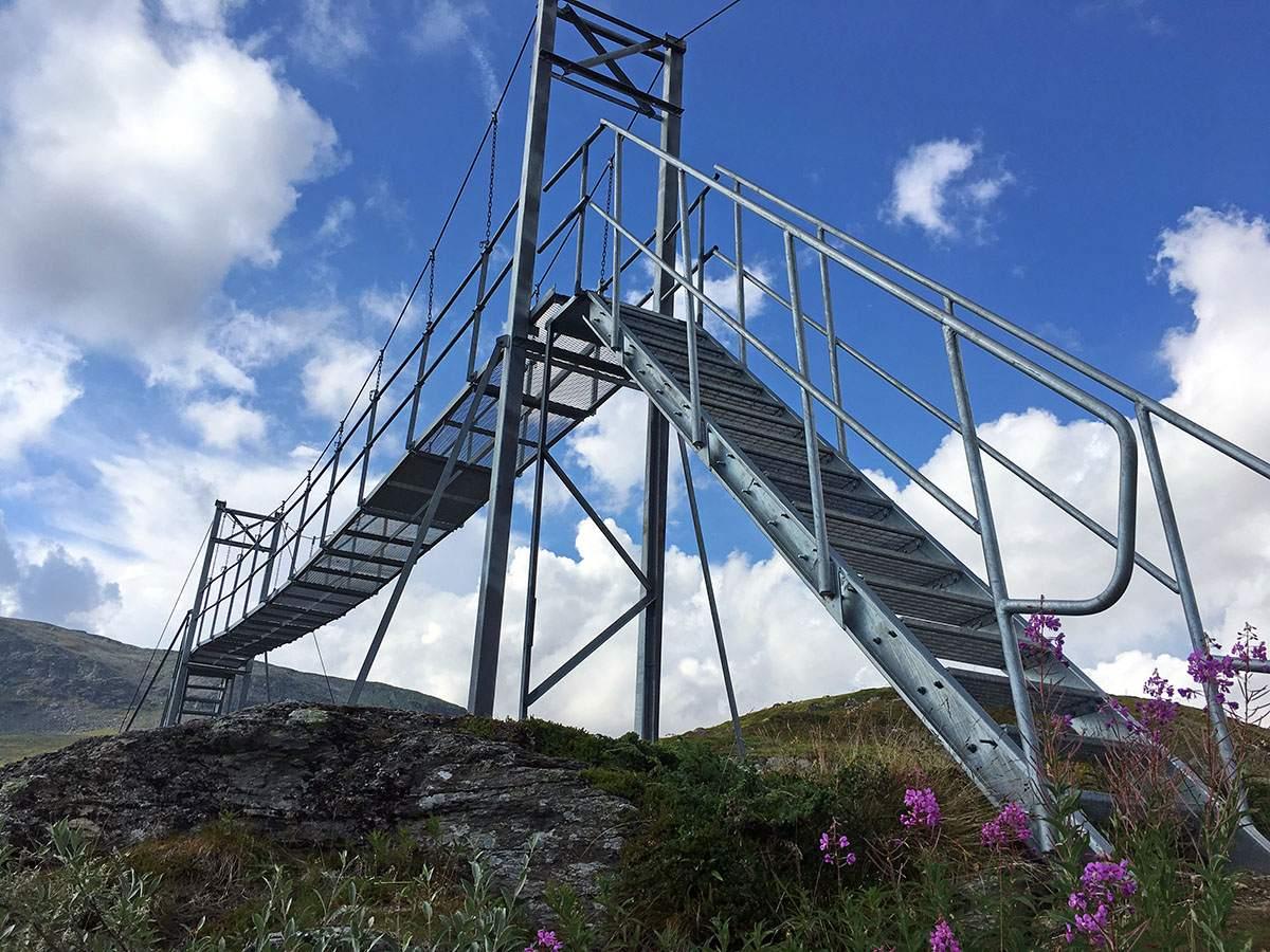 Bridge on Kungsleden