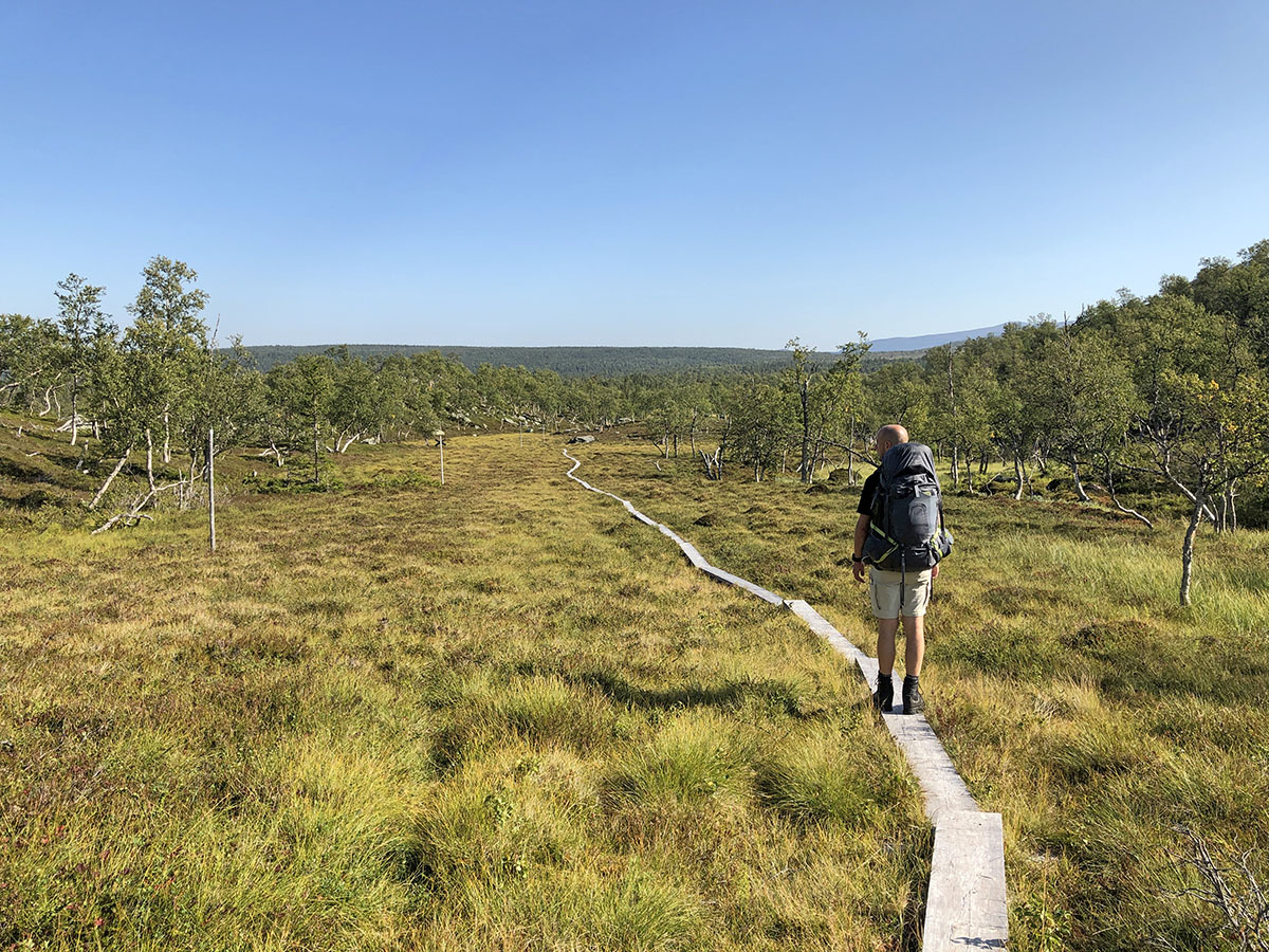Nog meer boardwalks in  Vålådalen