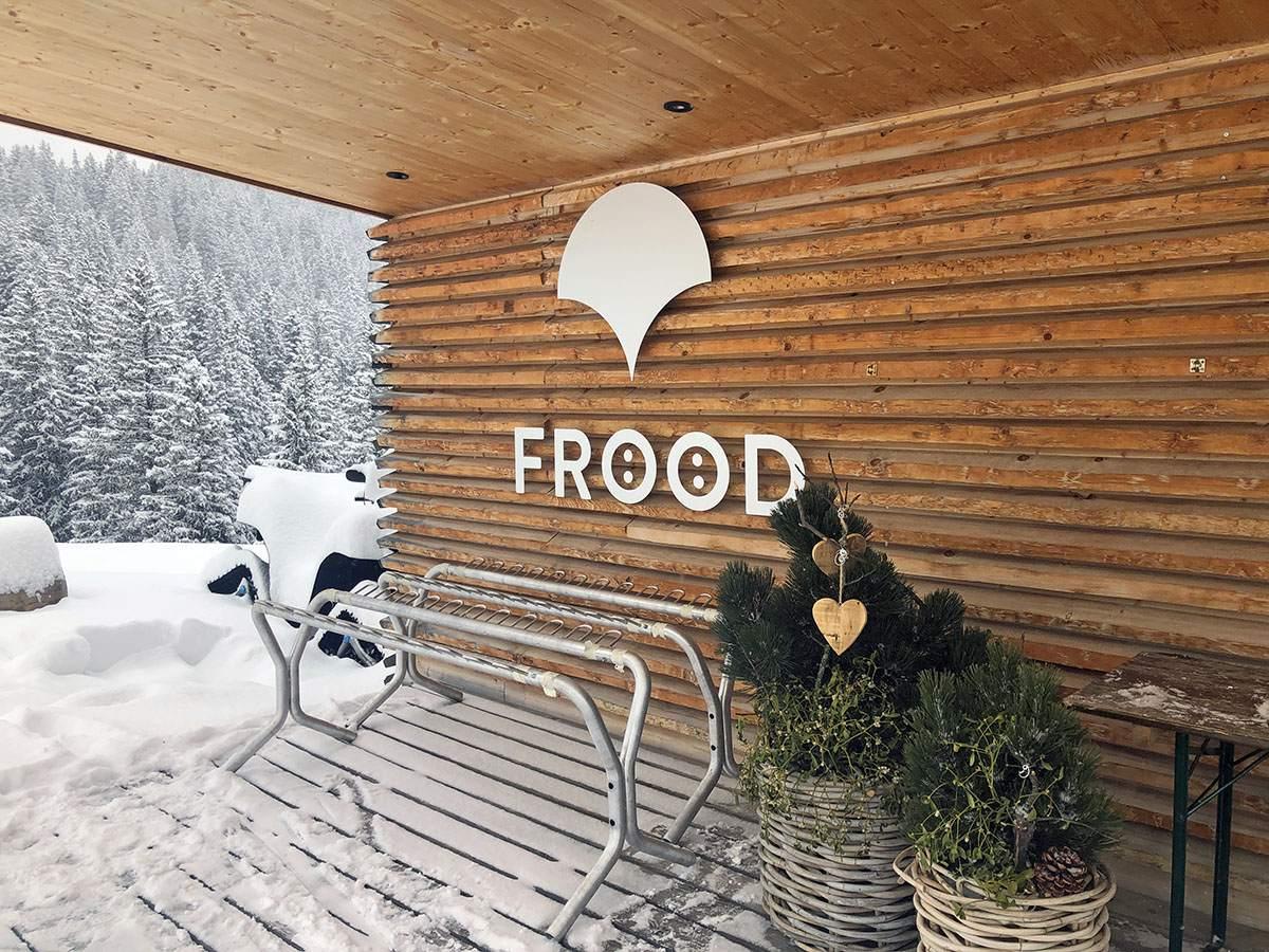 Restaurant Frööd bovenop de berg