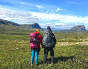 Kungsleden hike: from Kvikkjokk to Saltoluokta