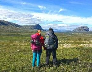 Kungsleden hike: from Kvikkjokk to Saltoluokta