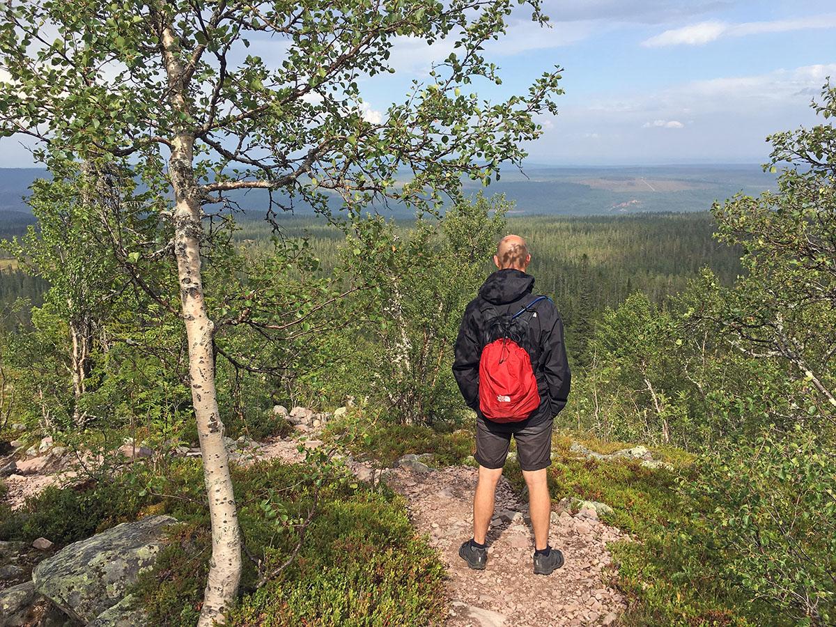 Uitzicht Fulufjället Nationaal Park