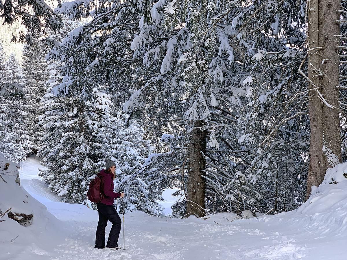 Winterwandelen in Vorarlberg
