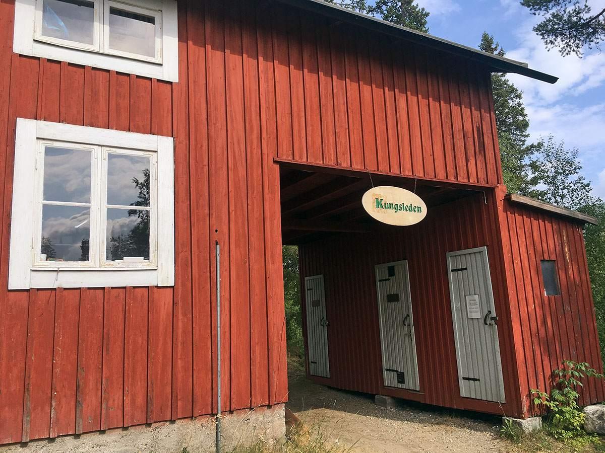 start van de Kungsleden in Kvikkjokk