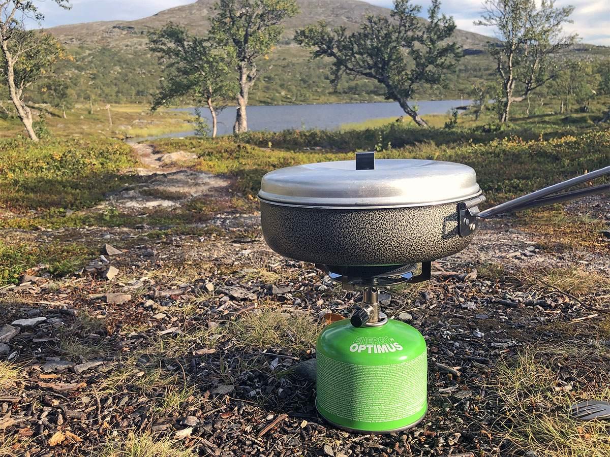 wildkamperen en koken in zweden