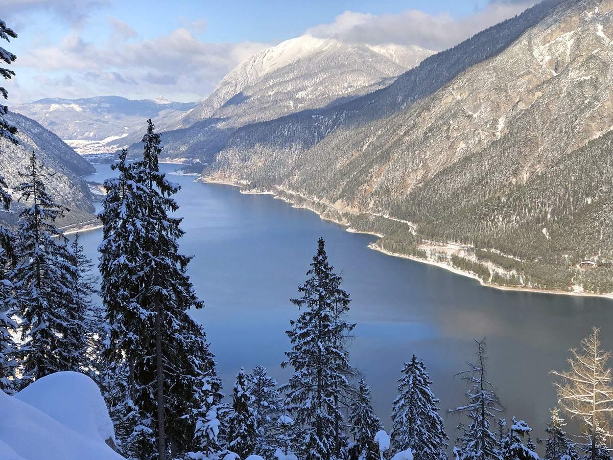 Achensee in de winter