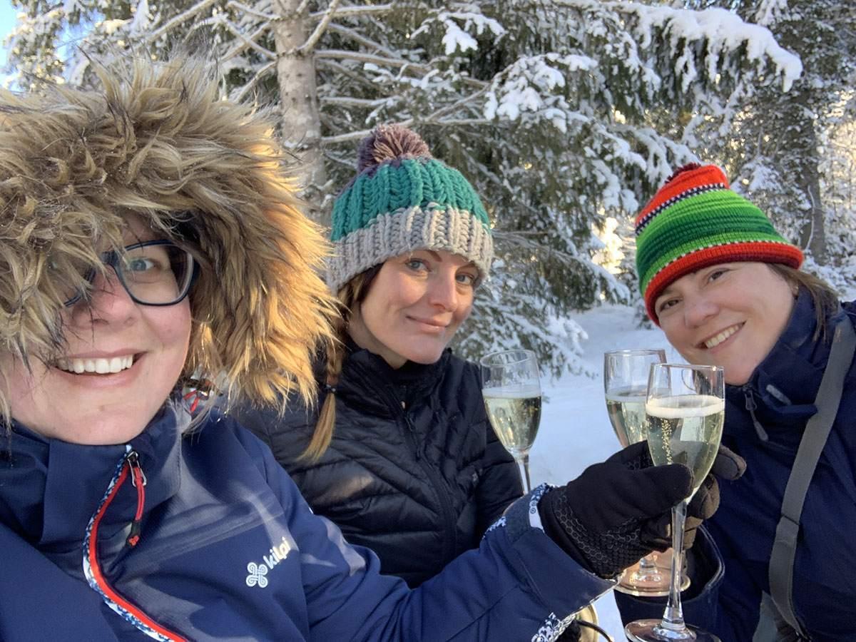 Arrenslee Oostenrijk winter