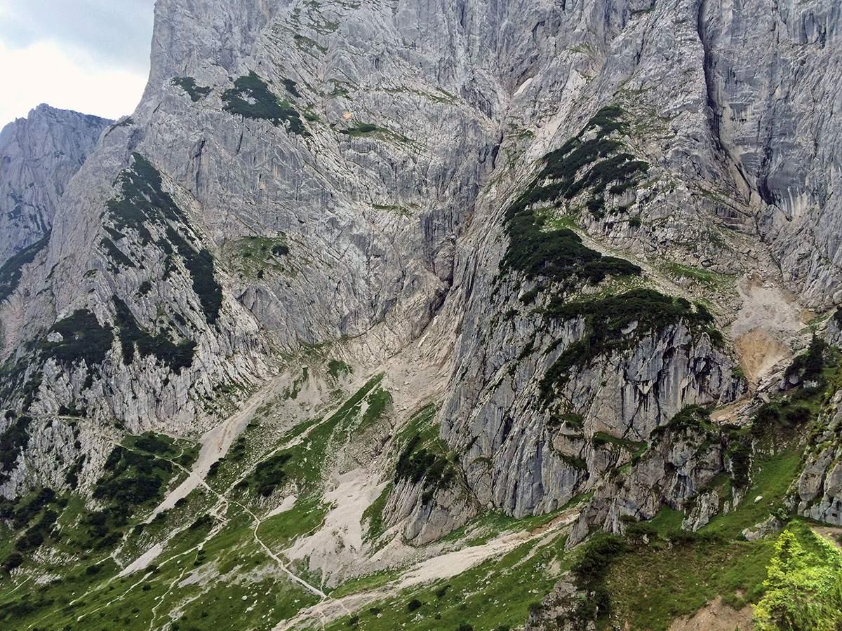 Uitzicht op de Goinger Halt