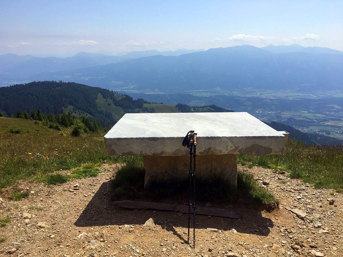 Steinerer Tisch Alpe Adria Trail