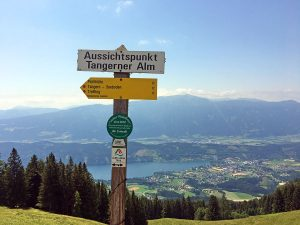 Alpe Adria Trail: section 12 from Seeboden to Milstätter Alpe