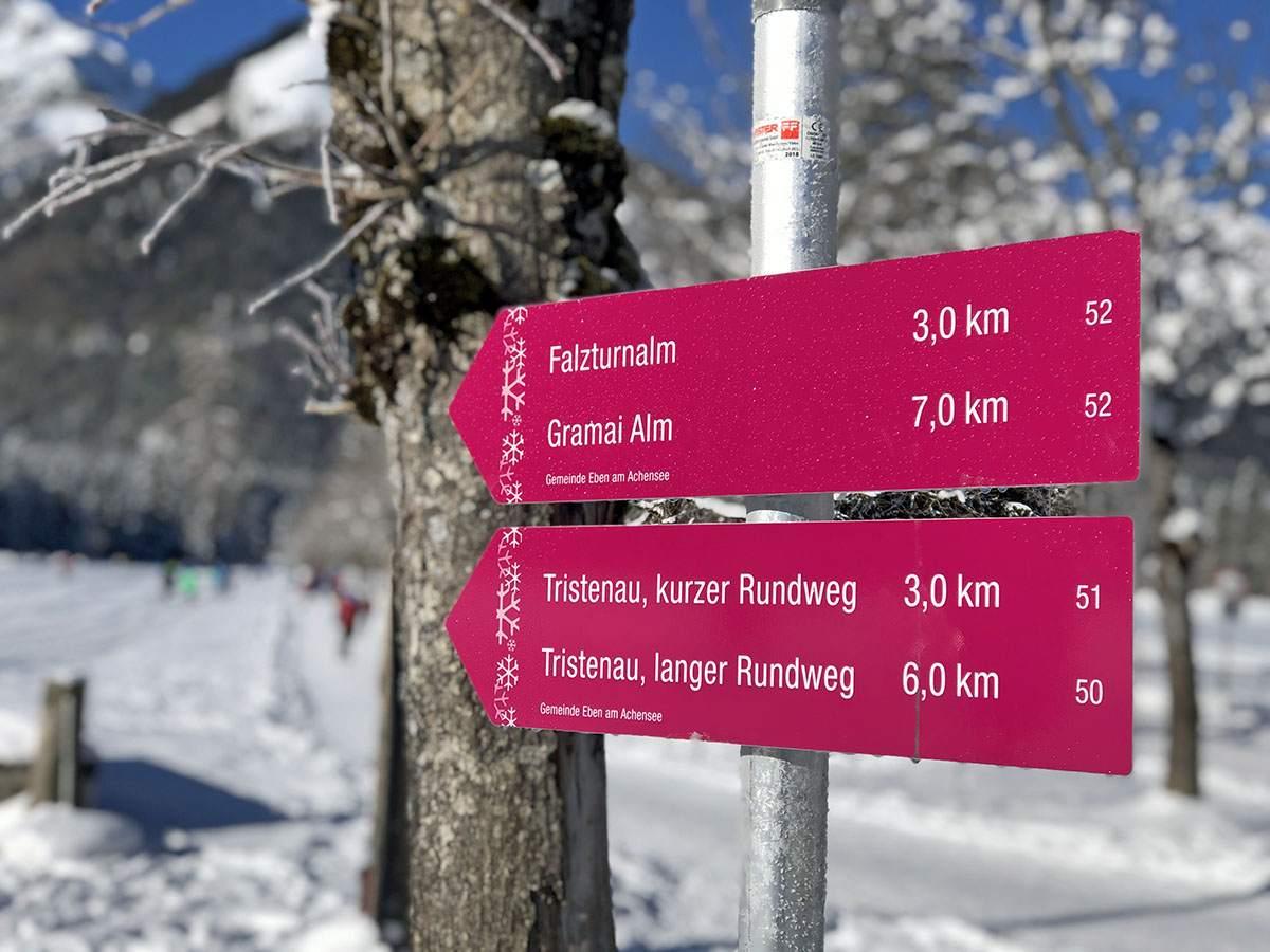 Winterwandelingen Achensee