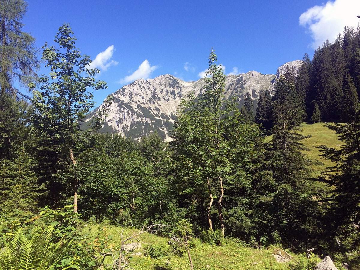 wandeling in het Kaisertal