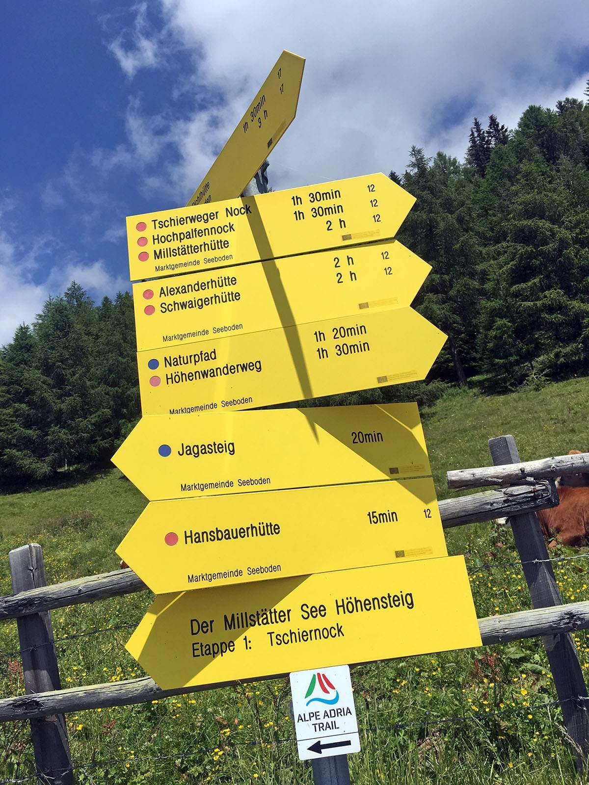 Over de Alpe Adria Trail