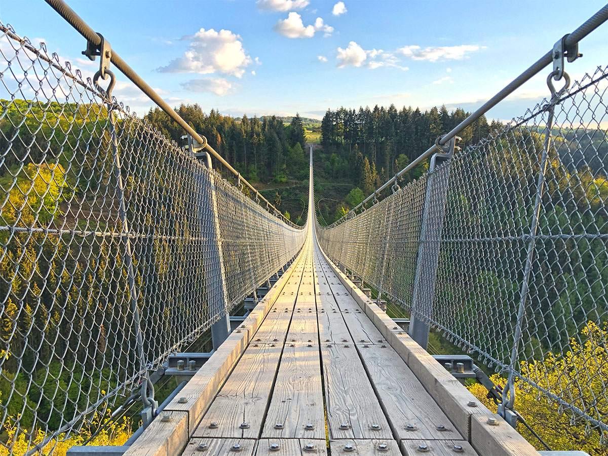 Micro avontuur in Duitsland op de Geierlay hangbrug