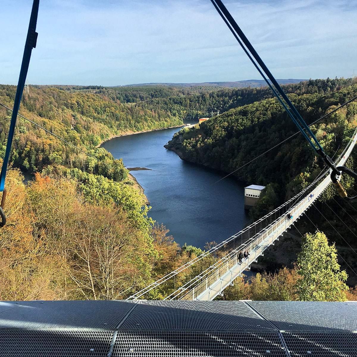 Mega Zipline in de Harz
